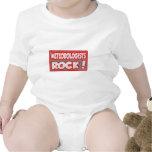 Meteorologists Rock! Baby Bodysuits