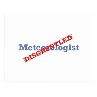 Meteorólogo/contrariedad Postales