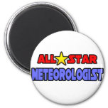 Meteorólogo de All Star Imanes Para Frigoríficos