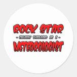 Meteorólogo de la estrella del rock… etiqueta