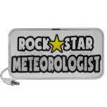 Meteorólogo de la estrella del rock mp3 altavoces