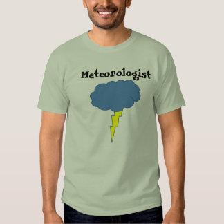 Meteorólogo del trueno playera