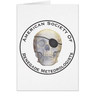Meteorólogos renegados tarjeta de felicitación
