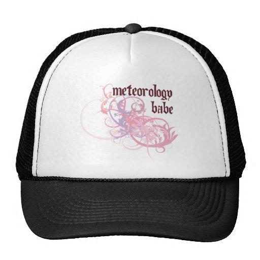 Meteorology Babe Trucker Hat