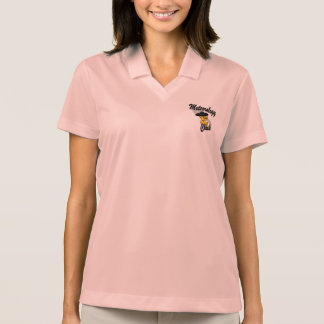 Meteorology Chick #4 Polo T-shirts