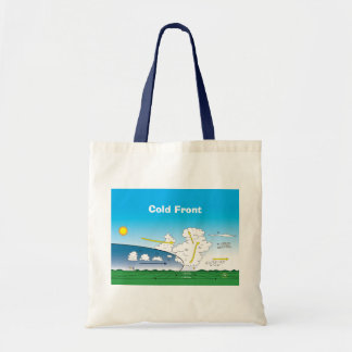 Meteorology Cold front Tote Bag