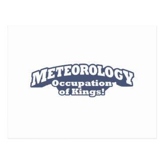 Meteorology / Kings Postcard