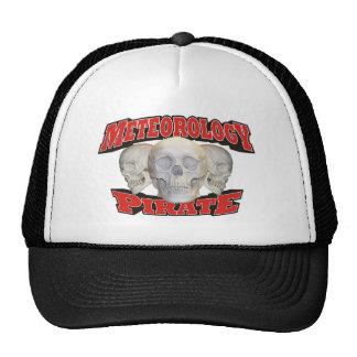 Meteorology Pirate Trucker Hat