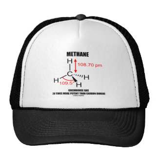 Methane Greenhouse Gas 20 Times More Potent Trucker Hat