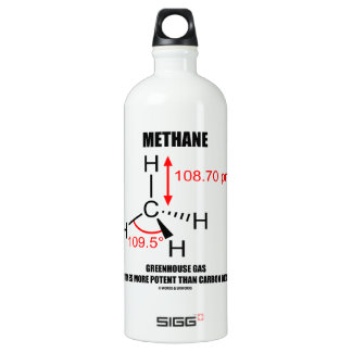 Methane Greenhouse Gas 20 Times More Potent Than Aluminum Water Bottle