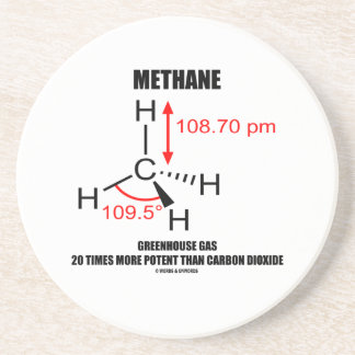 Methane Greenhouse Gas 20 Times More Potent Than Drink Coaster