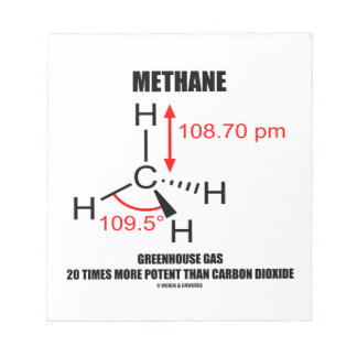 Methane Greenhouse Gas 20 Times More Potent Than Notepad