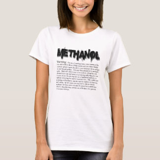Methanol Warning T-Shirt