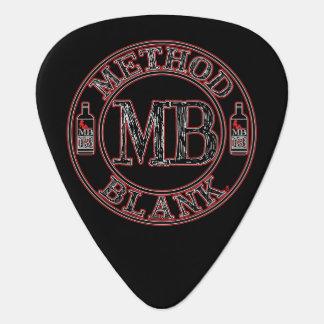 Method Blank MB13 Standard Guitar Pick
