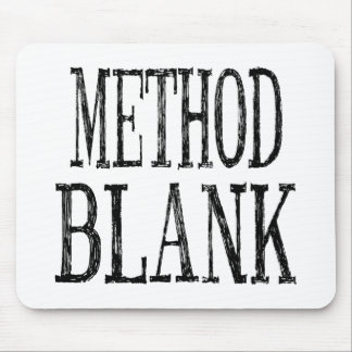 Method Blank Mouse Pad