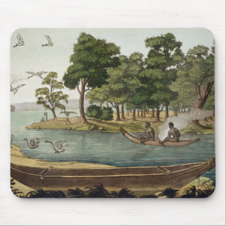 Method of Navigation in New Holland engraved by F Mouse Pads