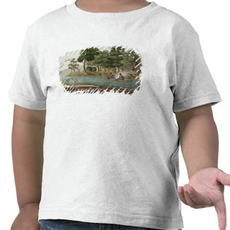 Method of Navigation in New Holland, engraved by F Tee Shirts