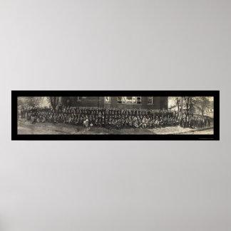 Methodist Bible Class Photo 1911 Poster