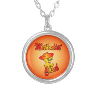 Methodist Chick #5 Personalized Necklace