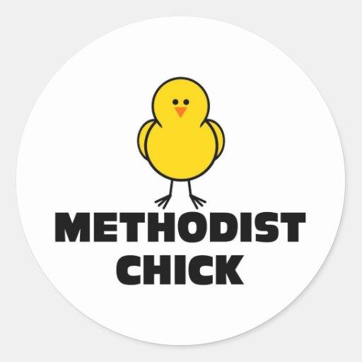 Methodist Chick Stickers
