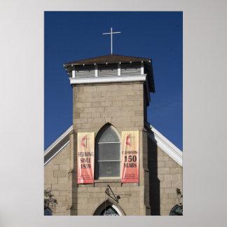 Methodist Church, Carson City Poster