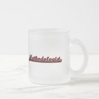 Methodologist Classic Job Design Frosted Glass Mug