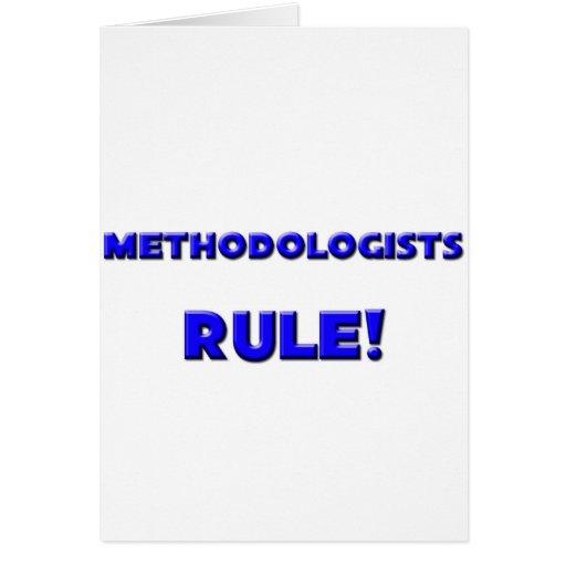 Methodologists Rule! Greeting Card