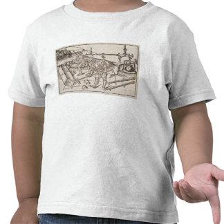 Methods of moving stone blocks, from 'Di Lucio Vit T-shirt