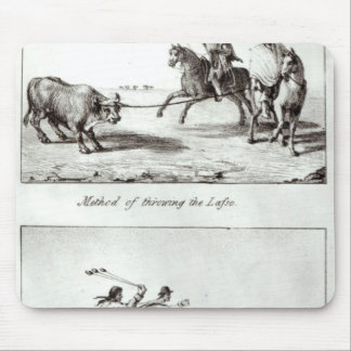 Methods of Throwing the Lasso and the Bolas Mouse Pad