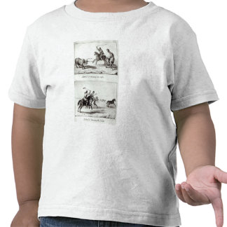 Methods of Throwing the Lasso and the Bolas Tee Shirts