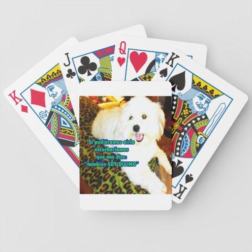 Metida de pata 18,04 baraja de cartas