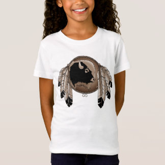 Metis Art Kid's T-shirt First Nation Art Kid's Tee