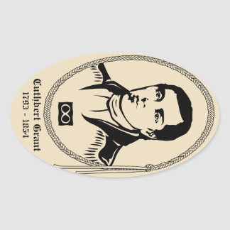 Metis Art Stickers First Nation Leader Sticker