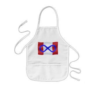 Metis Flag Apron First Nation Canada Apron