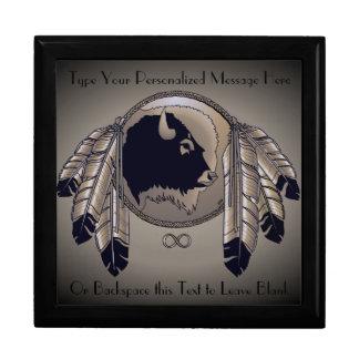 Metis Gift Box Custom First Nations Jewelry Box
