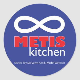 Metis Kitchen Stickers