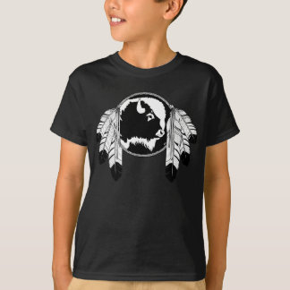 Metis Pride Kids T-shirt First Nation Art Tee
