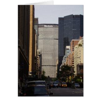 MetLife Bulding en NYC Tarjeta De Felicitación