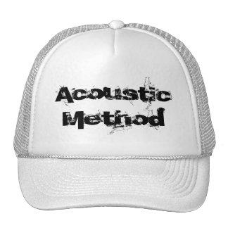 Método acústico gorras