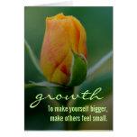 Método rápido y fácil para el crecimiento personal tarjeton