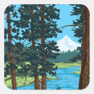 Metolius River Headwaters, Oregon Sticker