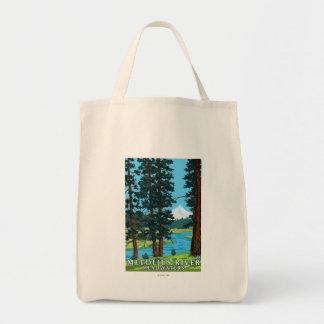Metolius River Headwaters, Oregon Tote Bag