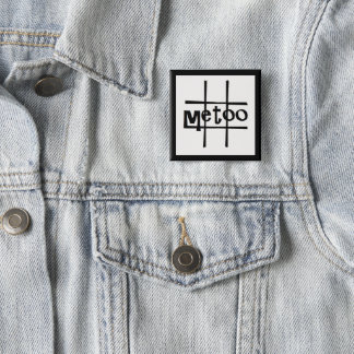 #metoo badge by DAL Pinback Button