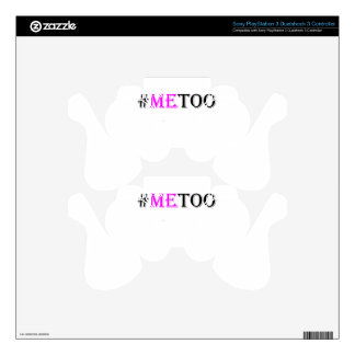#METOO Movement For Womens Rights And Equality PS3 Controller Decal