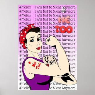 #MeToo  Warrior Women Poster