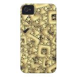 Metralla de oro Case-Mate iPhone 4 cárcasa