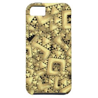 Metralla de oro iPhone 5 fundas
