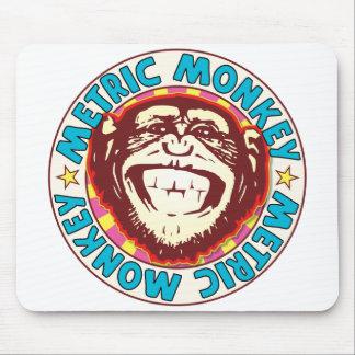 Metric Monkey Mouse Pad