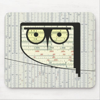 Metric Owl Mousepad