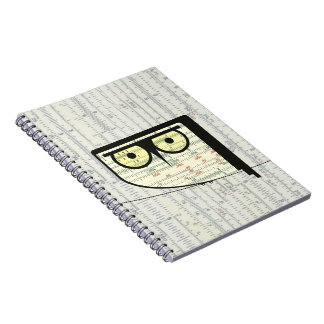 Metric Owl Notebook